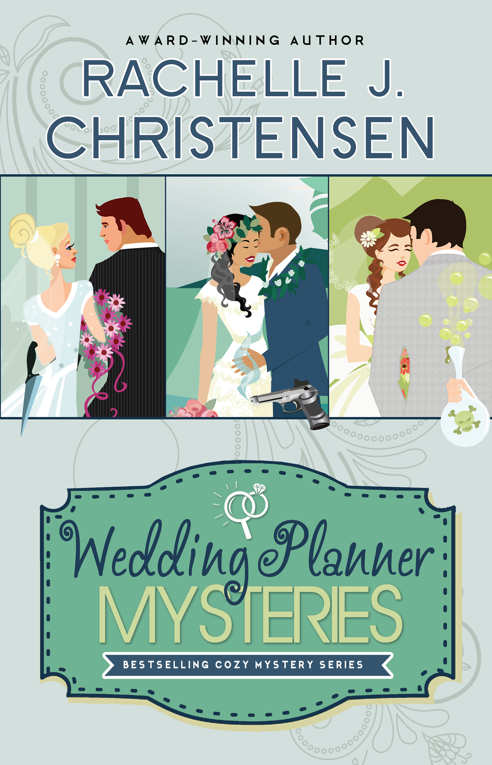 WEDDING PLANNER MYSTERY SERIES - Front Cover (for Amazon)