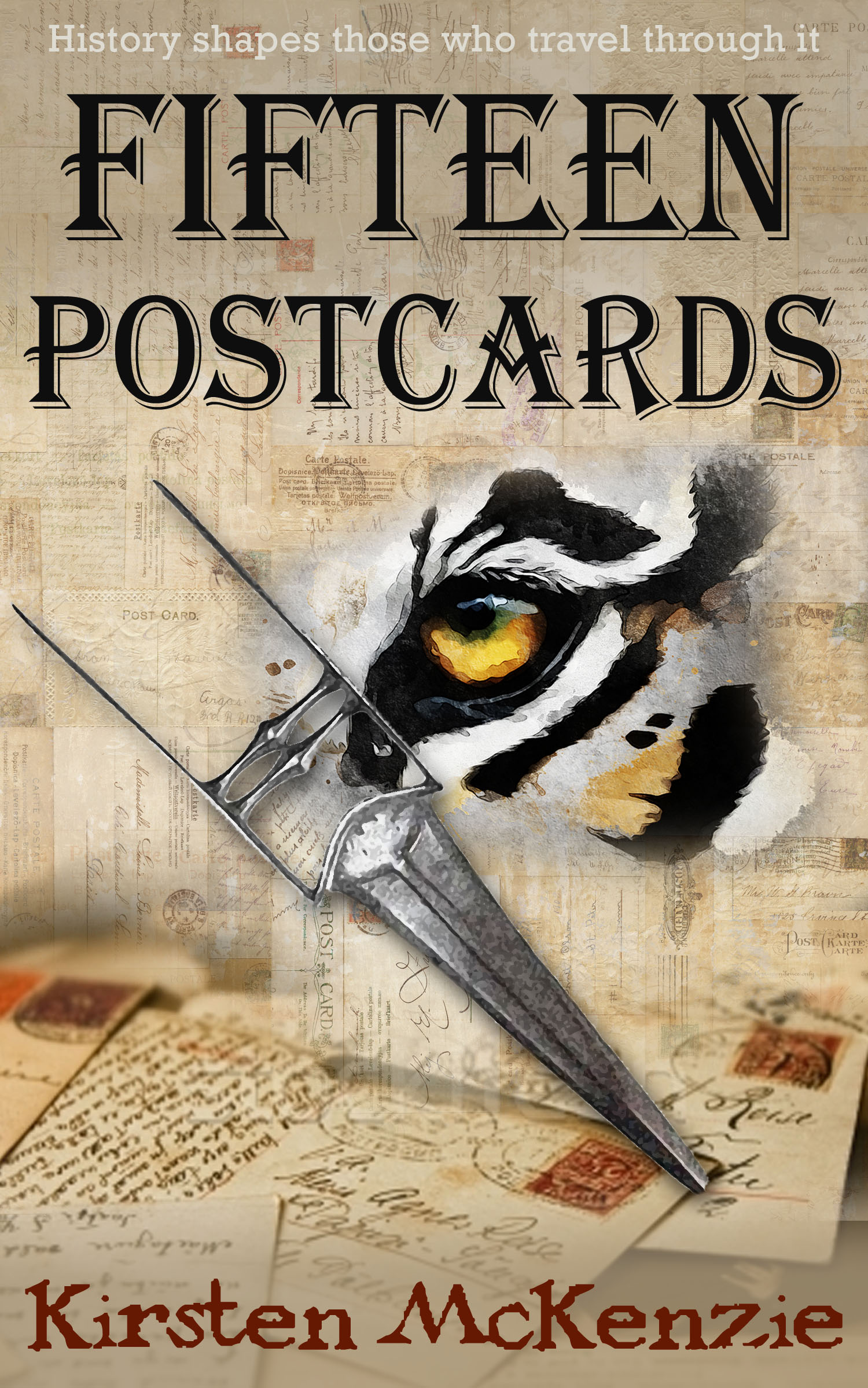 Fifteen Postcards Cover